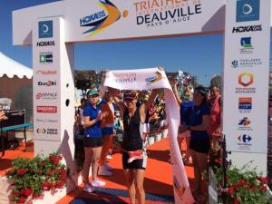 Brooke showed what's she is worth as a pro triathlete