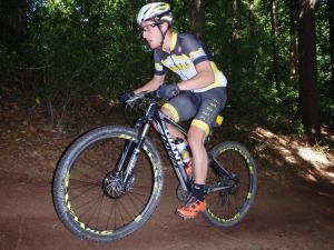 Give him some singletracks and you can't stop him!