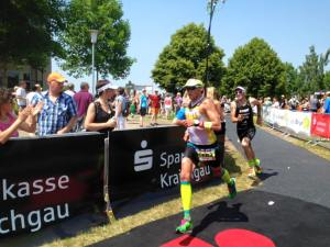 Raphael did an OD race just 2 weeks after his Ironman70.3 at Kraichgau and he could be where he intended to be!
