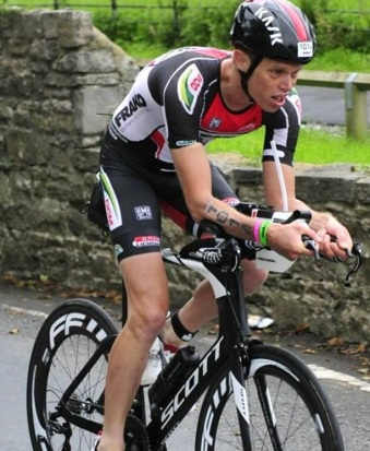 Tony qualifying for Kona19 in Wales