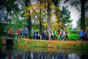 Running is about nature, fun, relaxation, effort and most of all...having a good feeling during and afterwards!
