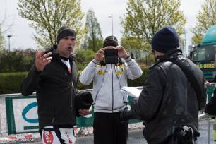 Hans astonished the local spectators and was interviewed by the local press!