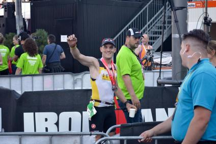 Toon is an Ironman and after Ironman Vichy now it was Ironman Maastricht!