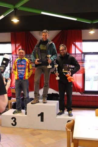 Wim, quite new in multisport was able to get 1st in the masters race and above all 4th overall...someone to keep in mind!