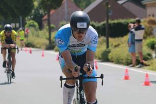 Our athletes racing around Belgium