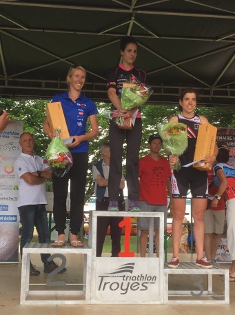 Inge...unbelievable month for her, with AG win in 70.3 Luxemburg and 2nd place in Troyes!