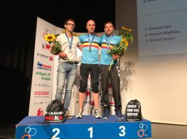Podium with Hans (1st) and Jan (2nd)