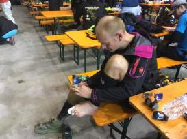 Ultra trail du Mont Blanc leaves its traces for Ciprian!