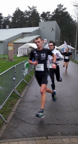 Jens and Jan running towards 2nd and 5th today!