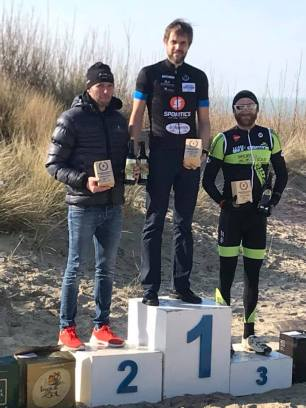 Bart took 7th overall, 2nd masters against some offroad specialists!